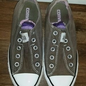 Unisex Converse All Star multi tongue slip ons
